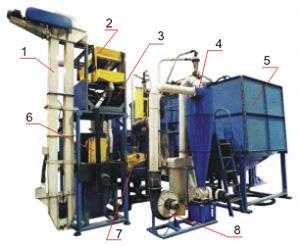 Агрегат очистки и подготовки зерна к помолу ПТМА-1М (спецзаказ)