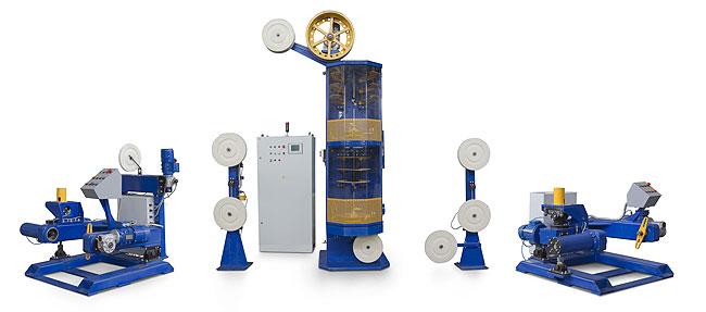 Вертикальная лентообмоточная машина ВЦО-2