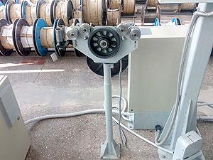 Линия ЛП-5-800-500 для перемотки жилы, кабельной заготовки и проволоки