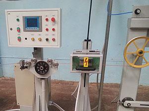 Линия ЛПКП-7,5-500 для перемотки и контроля проводов