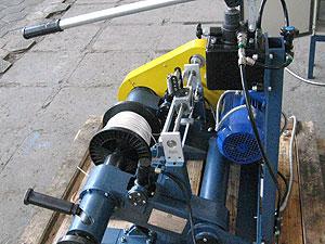 Линия для перемотки стальной оцинкованной проволоки ЛПС-500